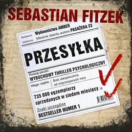 okładka Przesyłka, Audiobook | Sebastian Fitzek