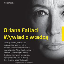 okładka Wywiad z władzą, Audiobook | Fallaci Oriana