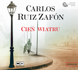 okładka Cień wiatru, Audiobook | Ruiz Zafon Carlos