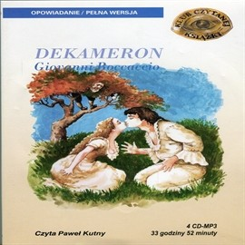okładka Dekameron, Audiobook | Giovanni Boccaccio
