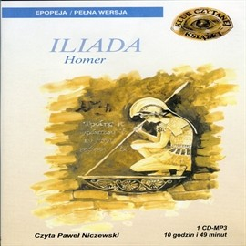okładka Iliada, Audiobook | Homer