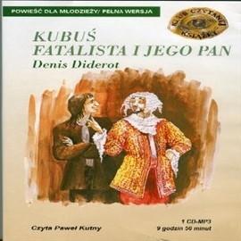 okładka Kubuś Fatalista i jego Pan, Audiobook | Denis Diderot