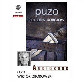 okładka Rodzina Borgiówaudiobook | MP3 | Mario Puzo