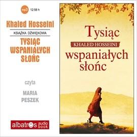 okładka Tysiąc wspaniałych słońc, Audiobook | Khaled Hosseini