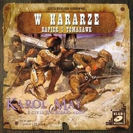 okładka W Hararze. Rapier i Tomahawk, Audiobook | Karol May