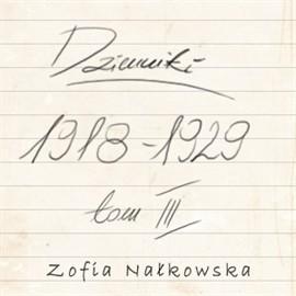 okładka Dzienniki (1918-1929), Audiobook | Nałkowska Zofia