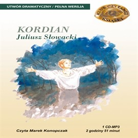 okładka Kordianaudiobook | MP3 | Juliusz Słowacki