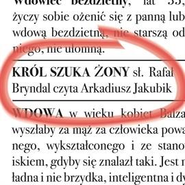 okładka Król szuka żony, Audiobook   Bryndal Rafał
