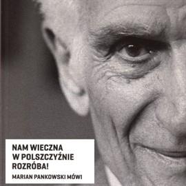 okładka Nam wieczna w polszczyźnie rozróba, Audiobook   Marian  Pankowski