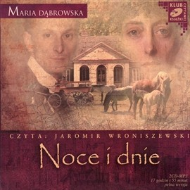 okładka Noce i dnie Tom I i IIaudiobook   MP3   Maria Dąbrowska