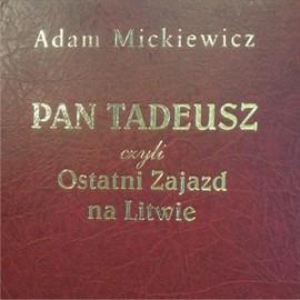 okładka Pan Tadeusz, Audiobook | Adam Mickiewicz
