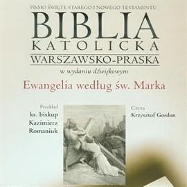 okładka Ewangelia według św. Marka, Audiobook  