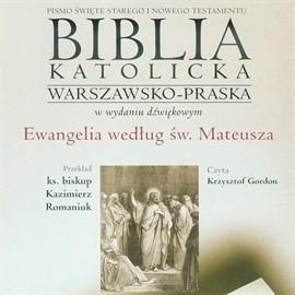 okładka Ewangelia według św. Mateusza, Audiobook |