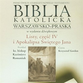 okładka Listy część IV i Apokalipsa Świętego Jana, Audiobook |