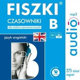 okładka FISZKI audio - j. angielski Czasowniki B, Audiobook | Wojsyk Patrycja