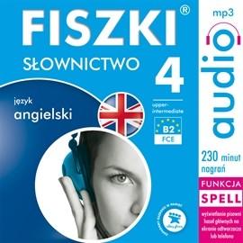 okładka FISZKI audio - j. angielski Słownictwo 4, Audiobook | Wojsyk Patrycja