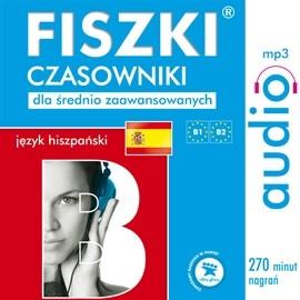okładka FISZKI audio – j. hiszpański – Czasowniki dla średnio zaawansowanych, Audiobook | Perczyńska Kinga