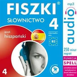 okładka FISZKI audio – j. hiszpański – Słownictwo 4, Audiobook | Perczyńska Kinga