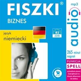 okładka FISZKI audio – j. niemiecki – Biznesaudiobook | MP3 | Perczyńska Kinga