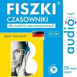 okładka FISZKI audio – j. niemiecki – Czasowniki dla średnio zaawansowanych, Audiobook | Perczyńska Kinga