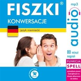 okładka FISZKI audio – j. niemiecki – Konwersacjeaudiobook | MP3 | Perczyńska Kinga