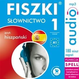 okładka FISZKI język hiszpański Słownictwo 1, Audiobook | Perczyńska Kinga