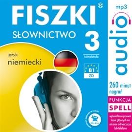 okładka FISZKI - język niemiecki - Słownictwo 3, Audiobook   Perczyńska Kinga