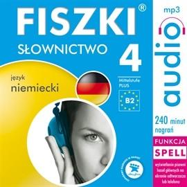 okładka FISZKI - język niemiecki - Słownictwo 4, Audiobook | Perczyńska Kinga