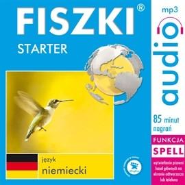 okładka FISZKI - język niemiecki Starter, Audiobook | Perczyńska Kinga