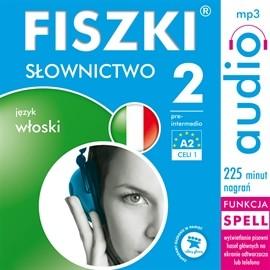 okładka FISZKI - język włoski Słownictwo 2, Audiobook | Wojsyk Patrycja
