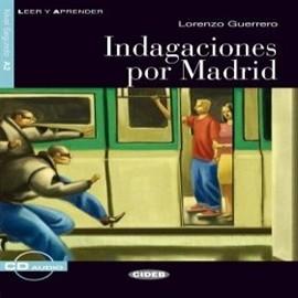 okładka Indagaciones por Madrid, Audiobook   EDITRICE CIDEB