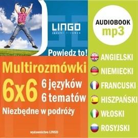 okładka Multirozmówki 6x6, Audiobook   Praca Zbiorowa