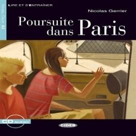 okładka Poursuite dans Paris, Audiobook | EDITRICE CIDEB