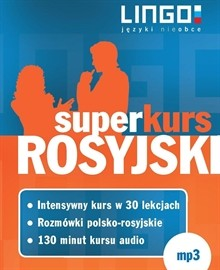 okładka Rosyjski. Superkursaudiobook   MP3   Lingo