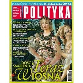 okładka AudioPolityka Nr 17-18 z 25 kwietnia 2012 rokuaudiobook | MP3 | Polityka