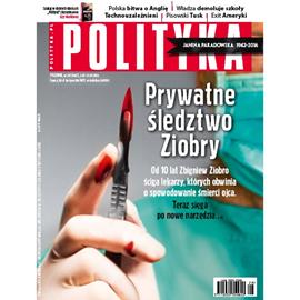 okładka AudioPolityka Nr 28 z 6 lipca 2016, Audiobook   Polityka