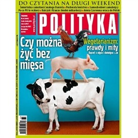 okładka AudioPolityka Nr 33 z 12 sierpnia 2013, Audiobook | Polityka