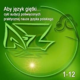 okładka Aby język giętki... cz. 1, Audiobook   Turek Krystyna
