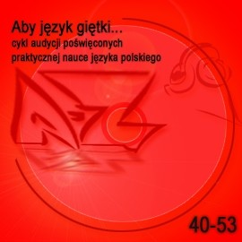 okładka Aby język giętki... cz. 4, Audiobook | Turek Krystyna