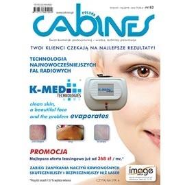 okładka Cabines numer 63  kwiecień/maj 2014, Audiobook | kosmetyczne - Kosmetyka Spa & Wellness Czasopismo