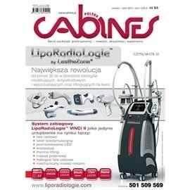 okładka Cabines numer 64  czerwiec/lipiec 2014, Audiobook | kosmetyczne - Kosmetyka Spa & Wellness Czasopismo