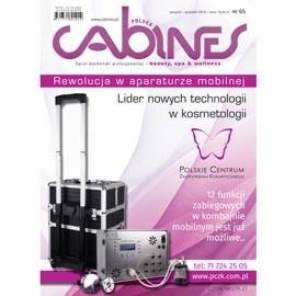 okładka Cabines numer 65  sierpień/wrzesień 2014, Audiobook | kosmetyczne - Kosmetyka Spa & Wellness Czasopismo