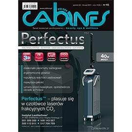 okładka Cabines numer 66  październik/listopad 2014, Audiobook | kosmetyczne - Kosmetyka Spa & Wellness Czasopismo