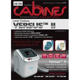 okładka Cabines numer 67  grudzień/styczeń 2015, Audiobook | kosmetyczne - Kosmetyka Spa & Wellness Czasopismo