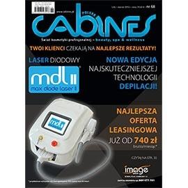 okładka Cabines numer 68  luty-marzec 2015, Audiobook | kosmetyczne - Kosmetyka Spa & Wellness Czasopismo