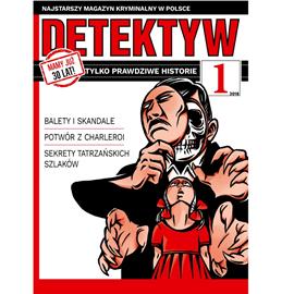 okładka Detektyw nr 1/2018, Audiobook | Agencja Prasowa S. A. Polska