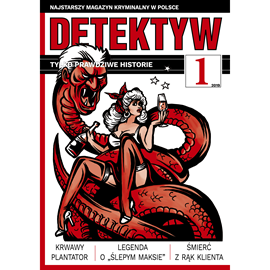okładka Detektyw nr 1/2019, Audiobook | Agencja Prasowa S. A. Polska
