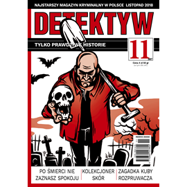 okładka Detektyw nr 11/2018, Audiobook | Agencja Prasowa S. A. Polska