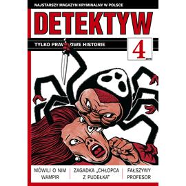 okładka Detektyw nr 4/2019, Audiobook | Agencja Prasowa S. A. Polska