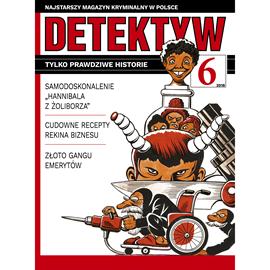okładka Detektyw nr 6/2018, Audiobook   Agencja Prasowa S. A. Polska